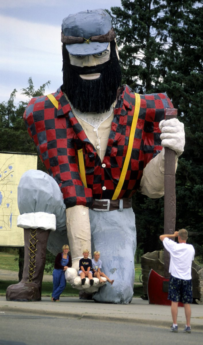 Happy #PaulBunyanDay! Paul Bunyan can be found across Minnesota. Which MN landmarks have you visited? #OnlyinMN https://t.co/HjX1HLkEHl