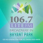 ????So excited to kick off @1067Litefm #BroadwayInBryantPark 2016. Visit https://t.co/REnfudlZAE for dates/info! #NYC https://t.co/9A7y2RFCtG