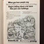 @GvilleChamber ad in a @PaladinFootball program, 1974. #furman #yeahthatgreenville https://t.co/fJ6trZIK6a