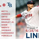 .@RickPorcello takes the hill as #RedSox continue series with the Rays at 7:10 ET. https://t.co/gWeOCKd4d4 https://t.co/kDN86vpztg