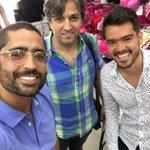 Acá con Sebastian Hernández y su agente Armando Zogbi en almacén Turko Jeans  @HablaDeportes. Cero humo nosotros. https://t.co/c75p1eZdiU