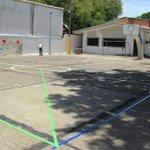 Creando una sanaconvivencia deportiva #SPSAvanza con los trabajos de remodelacion de la cancha del Barrio Medina. https://t.co/2elHi7RU9B