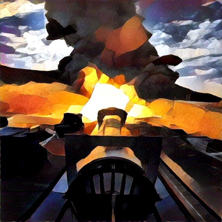 The SLS rocket motor test from an art perspective. #SLSFiredUp https://t.co/fsRpIPj5gc