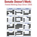 In 2016, the GOP Senate will work the fewest days since 1956 Now theyre planning to skip town w/out funding Zika https://t.co/FwEnWYSODe
