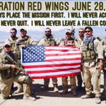 11 years ago today, 19 men lost their lives in Operation Red Wings (later turned into the movie Lone Survivor). RIP. https://t.co/ZBmbLDpUDA