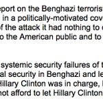 """RNC issues statement on Benghazi Committee report: """"Hillary Clinton was in charge, knew the risks and did nothing."""" https://t.co/DFoC4O9uV2"""