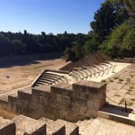 Preserved stadium where Rhodians tried out for ancient Olympics @GKamaterou #peacelovegreece #aegeannothinglikeit https://t.co/xOidtslqZ0