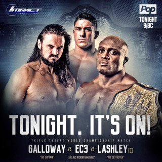 How can any wrestling fan not want to see this tonight on #IMPACTonPOP ! 3 of the today's best go heads up! Wow!#123 https://t.co/ybHefCE0cC
