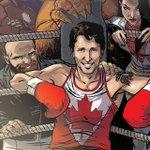 Ben voyons. Justin Trudeau, superhéros d'une BD de Marvel aux côtés d'Iron Man https://t.co/KoNmNawz0m via @RC_Arts https://t.co/sEJr79zC0g