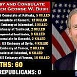 Guess how outraged Trey Gowdy,GOP,&RWNJs are about these embassy attacks?? #Benghazi #GOPBenghazms https://t.co/jxcvexvqeW