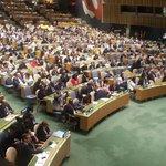 Con votos 183, Bolivia fue electa como miembro no permanente del Consejo de Seguridad de la ONU para 2017-2018. https://t.co/qutGrsYhLU