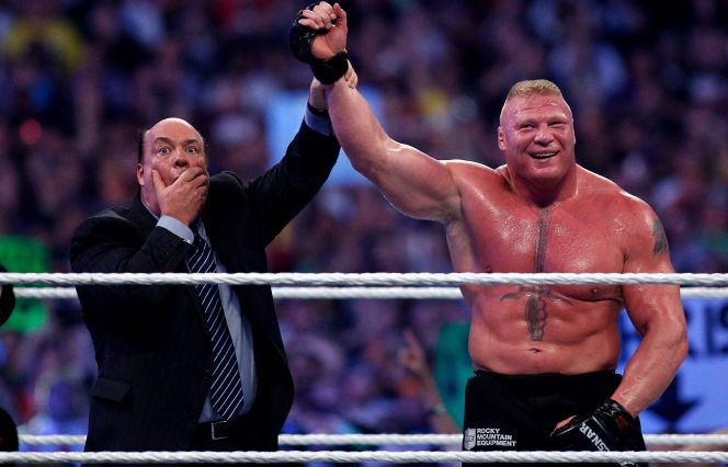 Paul Heyman says not even Conor McGregor or Ronda Rousey could do what Brock Lesnar does https://t.co/UITGIOvaBx https://t.co/IYKRLrDvHl