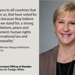 Sweden has been elected to the United Nations Security Council! #SwedenInUNSC https://t.co/4xWrV4s6EP