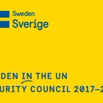 #Sweden in the @UN Security Council 2017-18. Thank you for all your support! #PushForPeace #SwedenInUNSC https://t.co/qJs5daKEQ7