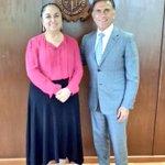 Recibo en Rectoría a @YoconYunes. Abordamos temas de primera importancia para la Universidad Veracruzana. https://t.co/WmsSJGzc7S