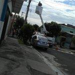#DenunciaCiudadana borran códigos de lámparas LED en Santa Tecla en camión sin placas. @nayibbukele @alcaldia_ss https://t.co/Q0k4kgg4B3