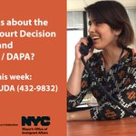 Questions about the Supreme Court Decision and DACA / DAPA? Call 1 866-HF-AYUDA (432-9832) this week to learn more! https://t.co/hto7tDHxbE