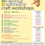 Artist in Residence #Craftworkshops start next week in #Brighton & #Dorchester See below for schedule! @OnlyInBOS https://t.co/sSEamA2Eju