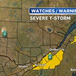SEVERE T-STORM WATCHES expanded to include #Montreal #qcstorm @CTVMontreal https://t.co/FN4BcQPc6D