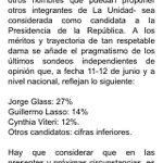 #Atención. El #PSC y su justificación para nominar a @CynthiaViteri6 para la Presidencia de la República. https://t.co/90LCPPDsZc