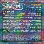 JUST ANNOUNCED: Primus, Television, Washed Out + The Coathangers join Desert Daze! TIX: ✨  https://t.co/TosEEn7CwZ ✨ https://t.co/doz61WAznx