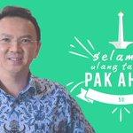 Selamat ulang tahun pak @basuki_btp kami siap untuk menemani langkah Bapak menuju Jakarta Baru, sehat selalu pak! https://t.co/KifrcfrwSB