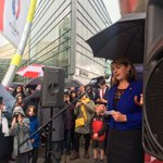.@leannewood tells #CF4EU all whove made Wales their home are welcome here & well defend their right to be here https://t.co/kIcKA5Fpse