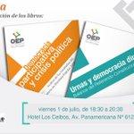 #Tarija ¡Este viernes 1 de julio estaremos en la Chura presentando estos dos libros! Les esperamos. RT porfa. https://t.co/AZbKVysn0b