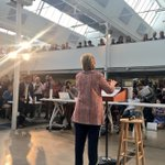 Thank You @HillaryClinton for visiting us in #Denver and sharing your vision about technology and education! https://t.co/TYYrg1GU2p