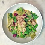 Braised rabbit, pappardelle, peas & sour cherries, inspired by a 15th century recipe! ???? @fisun_ercan #Montreal https://t.co/gApf2kzDPp