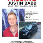 Help find @justinbabb. Please Contat RPD at 530-225-4200 with any info. https://t.co/JkUojeR3c7