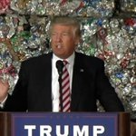 Trump giving a speech in front of a massive garbage pile, the internet can't stop laughing https://t.co/snkfKd7Vo3 https://t.co/crTeHveF7Q