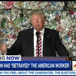 Phil Spector had the Wall of Sound. Donald Trump has the Wall of Garbage. https://t.co/OB0o6LCYuJ