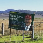 People round Werris Creek dont mince their words #ausvotes #liverpoolplains #auspol https://t.co/E7VcXOWM4i