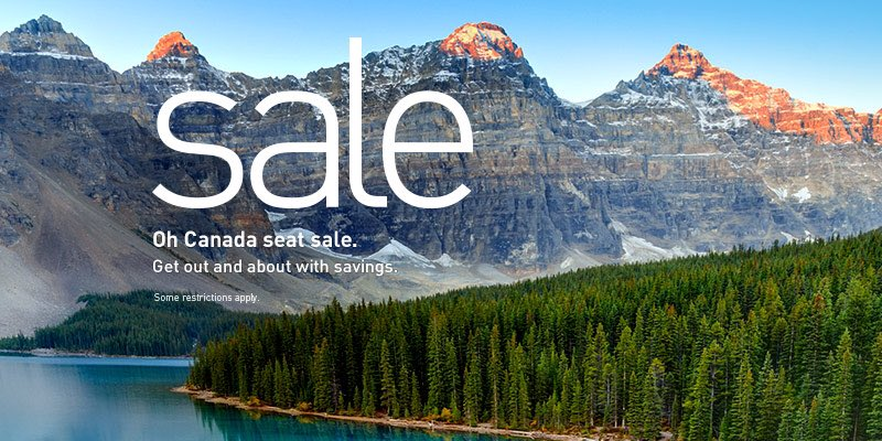 Canada Day Sale. Book by 6/30/16 (11:59 p.m. MT). Travel dates vary. Restrictions apply.
