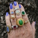 Cant decide which ring to wear today.. #bellarosagalleries #statementring #rings #santabarbara #goleta #vintagering https://t.co/22WbA1wfzN