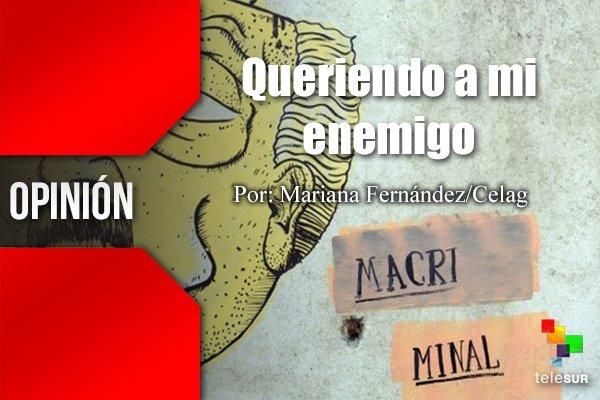 #OPINIÓN por  Mariana Fernández/Celag   Queriendo a mi enemigo https://t.co/hGANxbPPu0