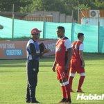 Luis Fernando Muriel se entrenó con @JuniorClubSA hoy en Bomboná. https://t.co/y5IKsNtmxu
