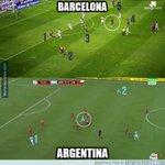 La diferencia Messi-Barcelona y Messi-Argentina. Más claro imposible. Vía @memedeportes https://t.co/lcdWZ8EpX2