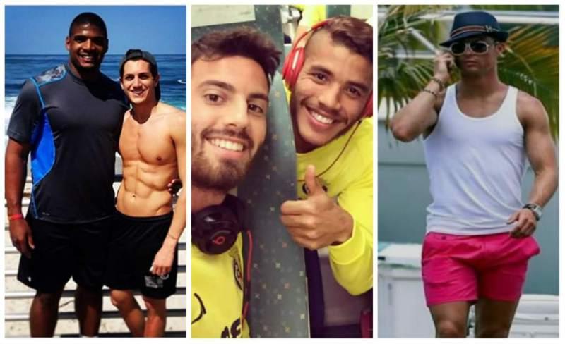 gay gloryhole deportistas homosexuales