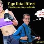 Igual que su coideario @POLOBAQUERIZO, @CynthiaViteri6 se lanza a la presidencia para perder otra vez. @La6Ecuador https://t.co/IRv1uov1Wo