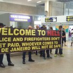 'Welcome to Hell': Rio police greet visitors five weeks before the Olympics https://t.co/nyk7RF59cT https://t.co/rACuiY7DDL