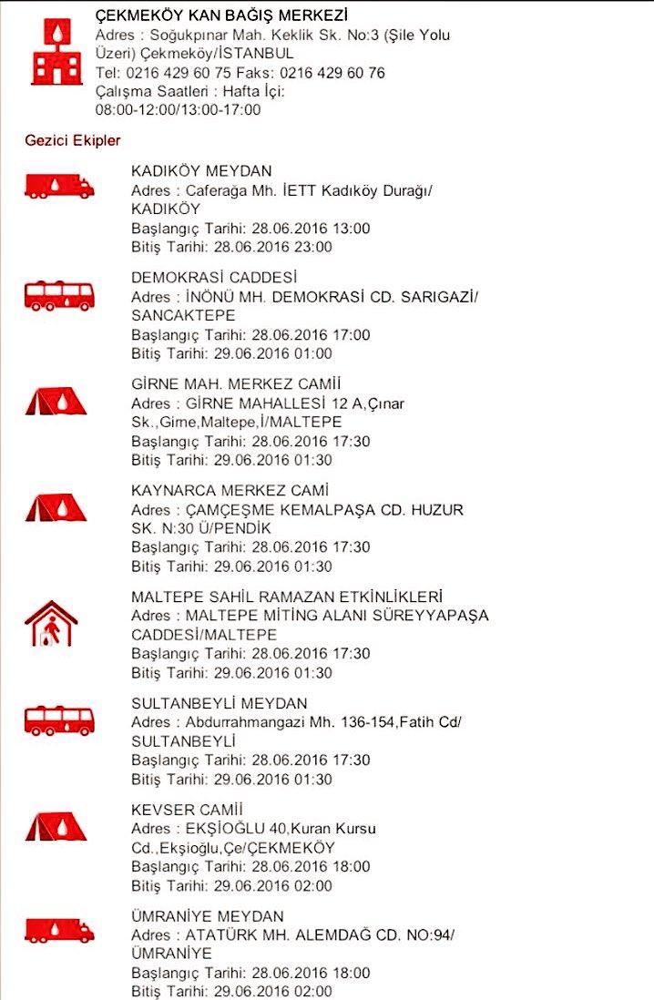 İstanbul Anadolu yakası Kan bağışı noktalarımız da görseldedir. https://t.co/NAV0MGBTfX