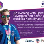 Want to meet a @SOGreatBritain athlete? Evening with Kiera Byland in #Bolton @perf4allnw #TheKieraProject #Proud https://t.co/vCiMXdXGwq