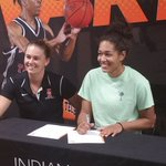 Keanna Gary signed letter of intent to play basketball at Indiana Tech. https://t.co/lYkTtgKopT