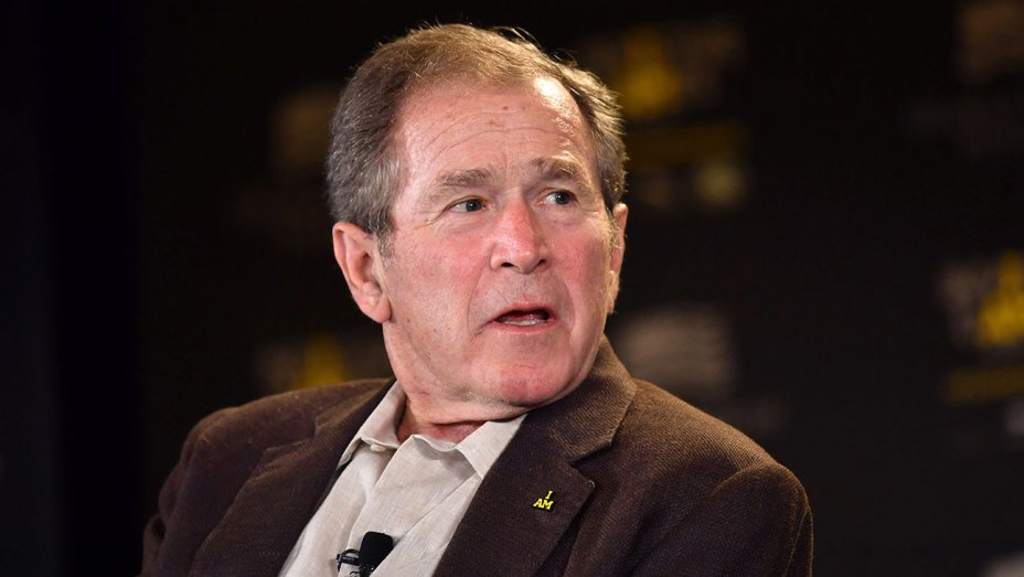 George W. Bush's rep says he is in