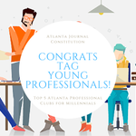 The @TAGYoungPros were named to the Top 5 of #Atlanta Professional Clubs for #Millennials! https://t.co/2R2fX74UBr https://t.co/yunAKMfy0f