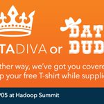 Calling all Data Divas or Data Dudes. Stop by SAS booth 905 today to pick up your shirt #HadoopSummit #HS16SJ https://t.co/DTg57Uqeul