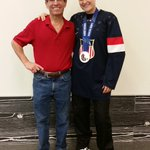 Olympic day with @lyndseyfry an olympic hockey silver medalist from chandler. Awesome young lady https://t.co/P3ISjXCCQN