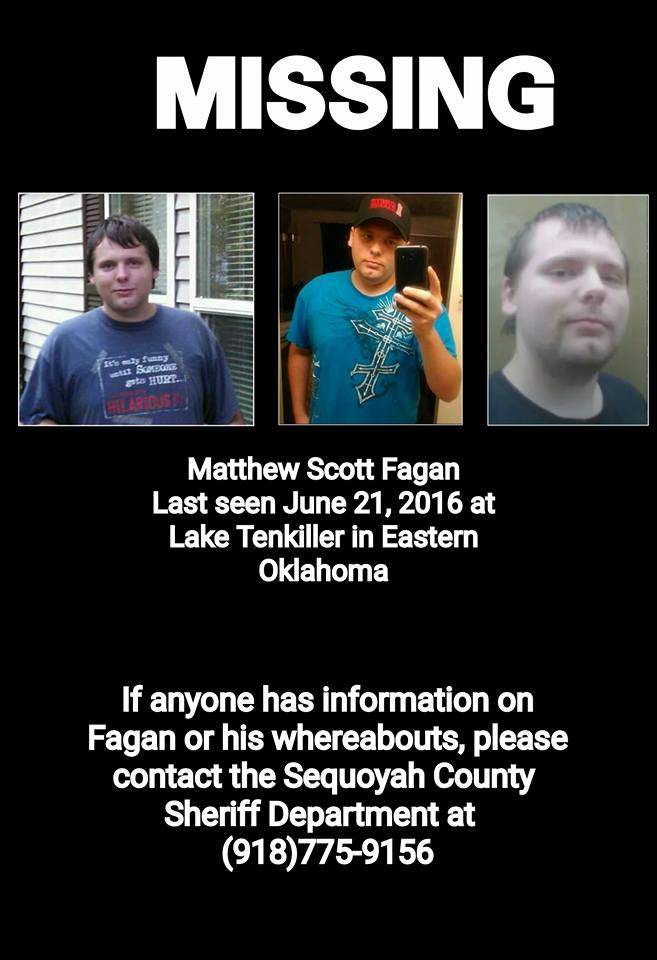 Please share #missing Even if you're not from #Oklahoma twitter is powerful! Pray for his safe return #FindMattFagan https://t.co/Ir1ip48YH6